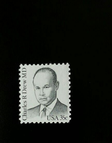 1981 35c Dr. Charles R. Drew MD American Physician Scot