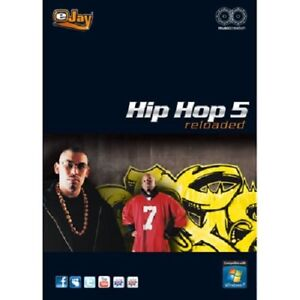 Details about eJay Hip Hop 5 Reloaded - Create music, Hip Hop, 10000  samples, Software, audio