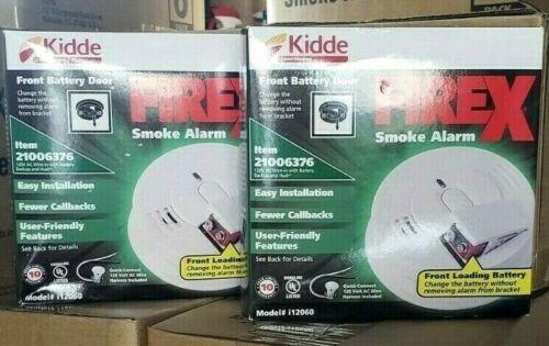 2 PACK KIDDE I12060 SMOKE ALARM.