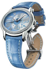 Audemars Piguet Millenary Automatic Lady Blue Diamond Steel 77301ST.ZZ.D303CR.01