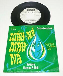 "SWEDEN HEAVEN AND HELL "" Mah-Na-Mah-Na "" german WL PROMO 1969 LONDON 60s PS 45"
