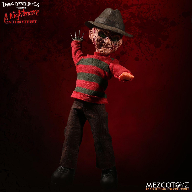 Living Dead Dolls una pesadilla en Elm Street hablando Frojody Krueger