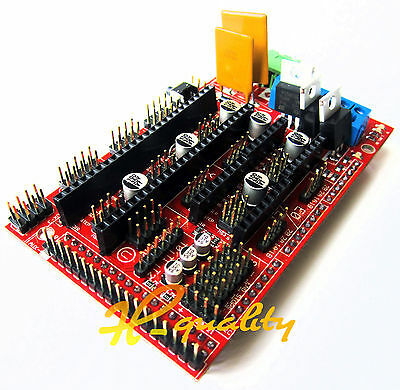 3D Printer Controller For Arduino Boards RAMPS 1.4 Reprap Mendel Prusa Support