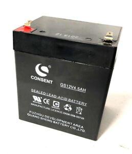 SLA Casil CA1240 Replacement Upgrade Battery 12V 5AH F1 Sealed Lead Acid