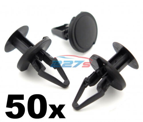 50x Plastic Trim Clips for some Vauxhall wheel arch linings, inner wing liner
