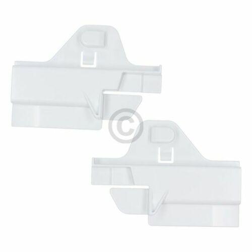 TOP ORIGINAL Glasplattenauflage SIEMENS 00617433 Set links rechts für Kühlgeräte