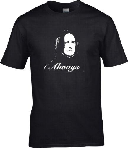 Harry potter severus rogue toujours hommage t shirt