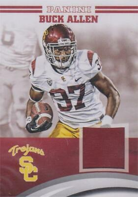 Buck Allen jersey relic football card (USC) 2015 Panini Team Collection #BA-USC   eBay