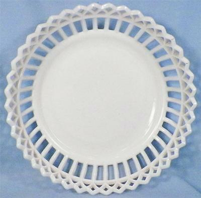 Milk Gl Bowl Gothic Border Canton