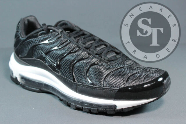 sports shoes f3446 b0677 ... australia nike air max 97 plus ah8144 001 tune up black anthracite white  ds size c1702