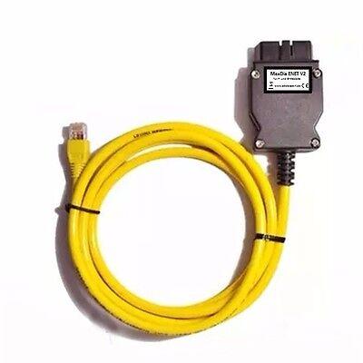 Angemessen Maxdia Enet V2 - Obd 2-interface Für Bmw-fahrzeuge (f&g-modelle) - Ohne Software