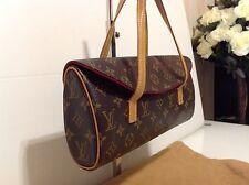 Authentic Louis Vuitton Sontaine Top Handle Clutch Bag. Monogram. Ex Condition.