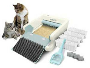 Image is loading NEW-Littermaid-LM980-Mega-Self-Cleaning-Litter-Box-  sc 1 st  eBay : cleaning the litter box - Aboutintivar.Com