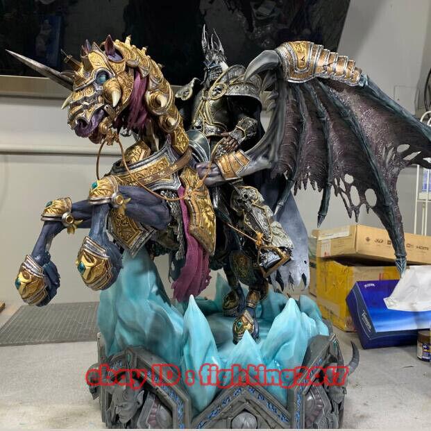tienda de pescado para la venta World of Warcraft coreJugar 1 6 Pegasus Pegasus Pegasus Caballo Rey Exánime Resina Estatua En Existencias  ventas en linea