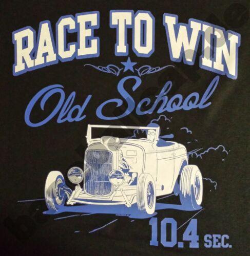 T-Shirt Old School Hot Rod Dragster PIN UP v8 USA VINTAGE RETRO CUSTOM Motard 615