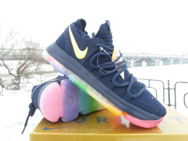 low priced f853b 0093f Nike Zoom Kd10 Mens Basketball Trainers 897815 SNEAKERS Shoes 100 9.5 UK