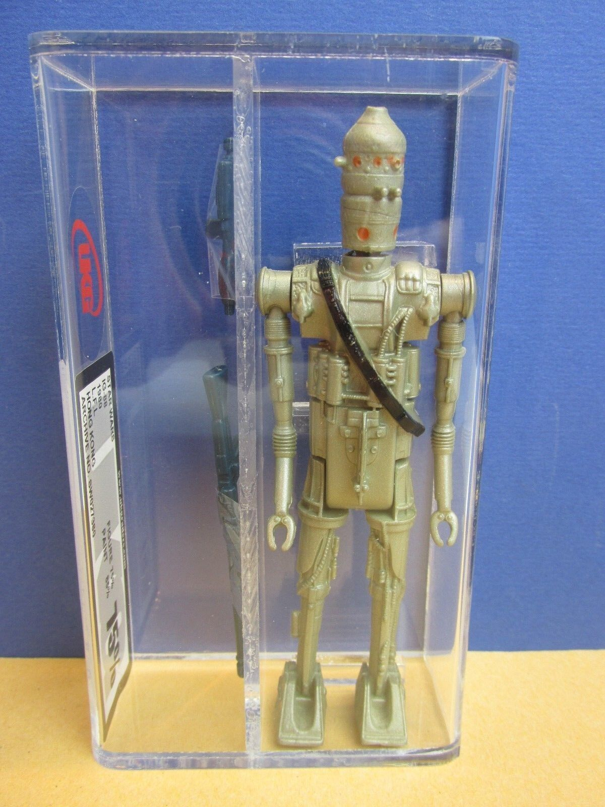 Vintage star wars IG-88 bounty hunter DROID ACTION ACTION ACTION FIGURE esb UKG not AFA kenner 96e1ac
