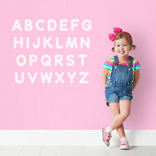 Alphabet Letters Learning Aid Kids Childrens Room School Wall Sticker