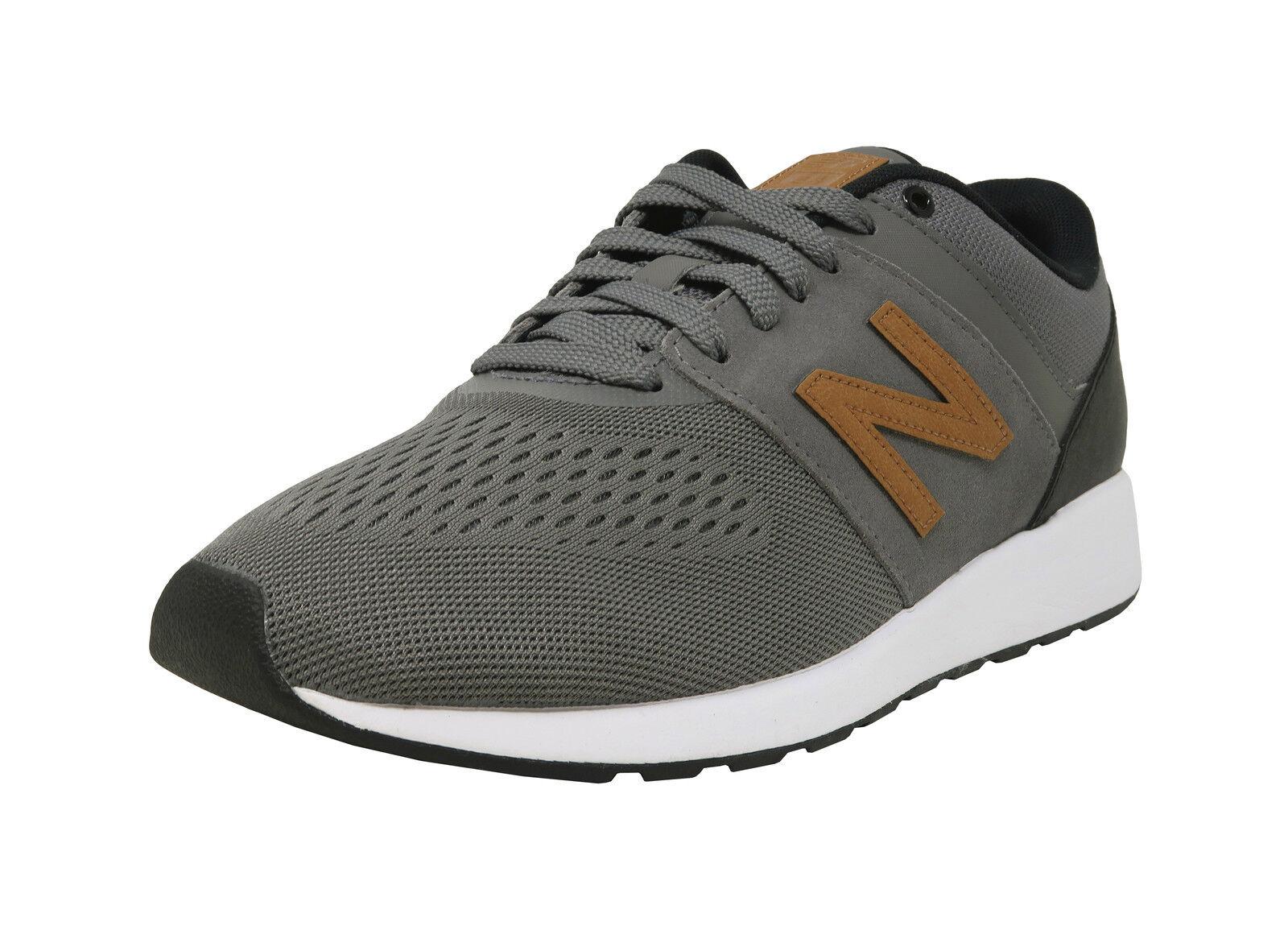 New Balance los 24 zapatos corrientes de los Balance hombres de mrl24crc - gris / marron 7bfa68