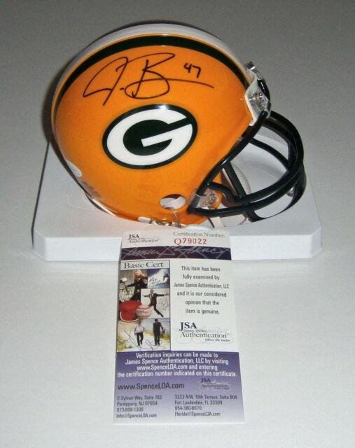 PACKERS Jake Ryan signed mini helmet w/ #47 JSA COA AUTO Autographed Green Bay