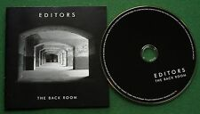 Editors The Back Room inc Munich & Fingers in The Factories + CD