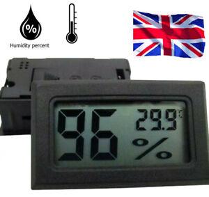 LCD Digital Indoor Salle thermomètre hygromètre Température réveil humidité compteur