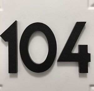 Details about 3 inch Magnetic Art Deco house numbers for doors, houses,  mailboxes, garages