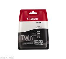 Genuine Canon PGI-525 Twin Black Ink Cartridge Pixma iP4950 iP4850 iX6550 MG5150
