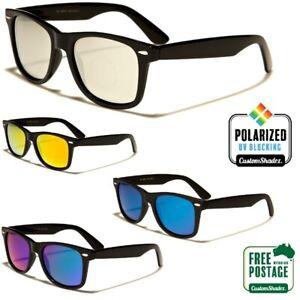 Polarised-Retro-Sunglasses-Mens-Womens-Polarized-Mirror-Lens-Free-Post
