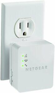 Netgear Wireless Wifi Wall Plug Repeater Range Signal Booster Extender Ebay