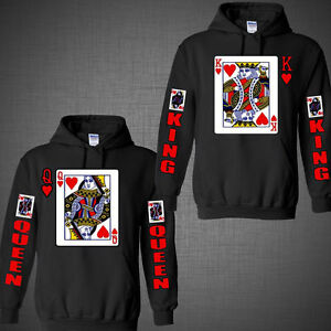 Valentines Day Shirts Couple Matching Sweatshirt King Of Hearts