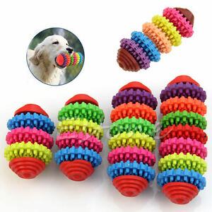 Colorful-Rubber-Pet-Dog-Puppy-Dental-Teething-Healthy-Teeth-Gums-Chewing-Toys