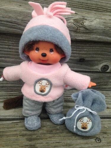 Abbigliamento per Monchichi TEDDY ORSO tg 20 cm Natale di maschi Rudolph Renna