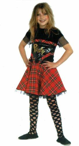 Punk Girl punkgirl Punk Rocker Punky punkerin rockerin rock Costume Enfants Set