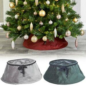Christmas-Tree-Plush-Velvet-Tree-Skirt-Base-Floor-Cover-Decor-Home-Mat-Ornament