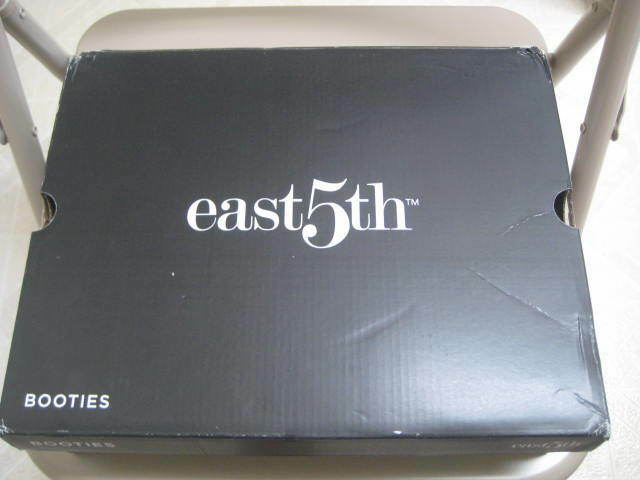 East 5th (7) Medium Navy Wouomo Gretchen Easy Access Access Access stivali in original box 52bfb6