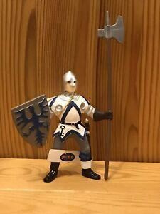 Papo Schleich-blanc/bleu lefthanded Guard
