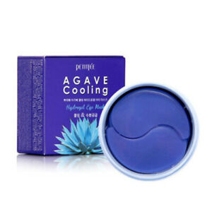 PETITFEE-AGAVE-Cooling-Hydrogel-Eye-Patch-60-sheets-Korea-Cosmetic