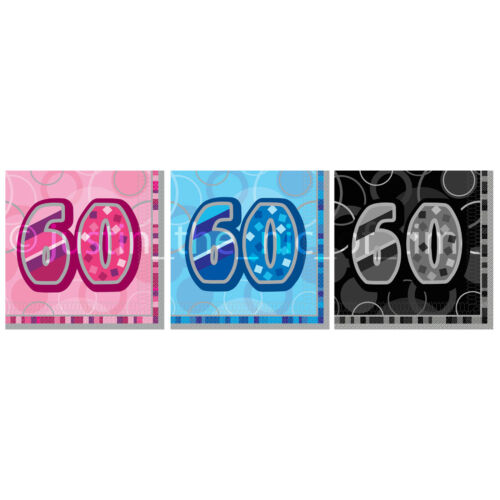 Serviettes 3 plis x16 milestone ages happy birthday gâteau fête homme femme garçon fille