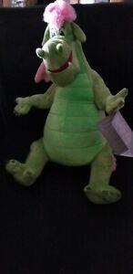 Disney-Store-Elliot-Dragon-Plush-Pete-039-s-Dragon-Medium-14-039-039-New-with-Tags