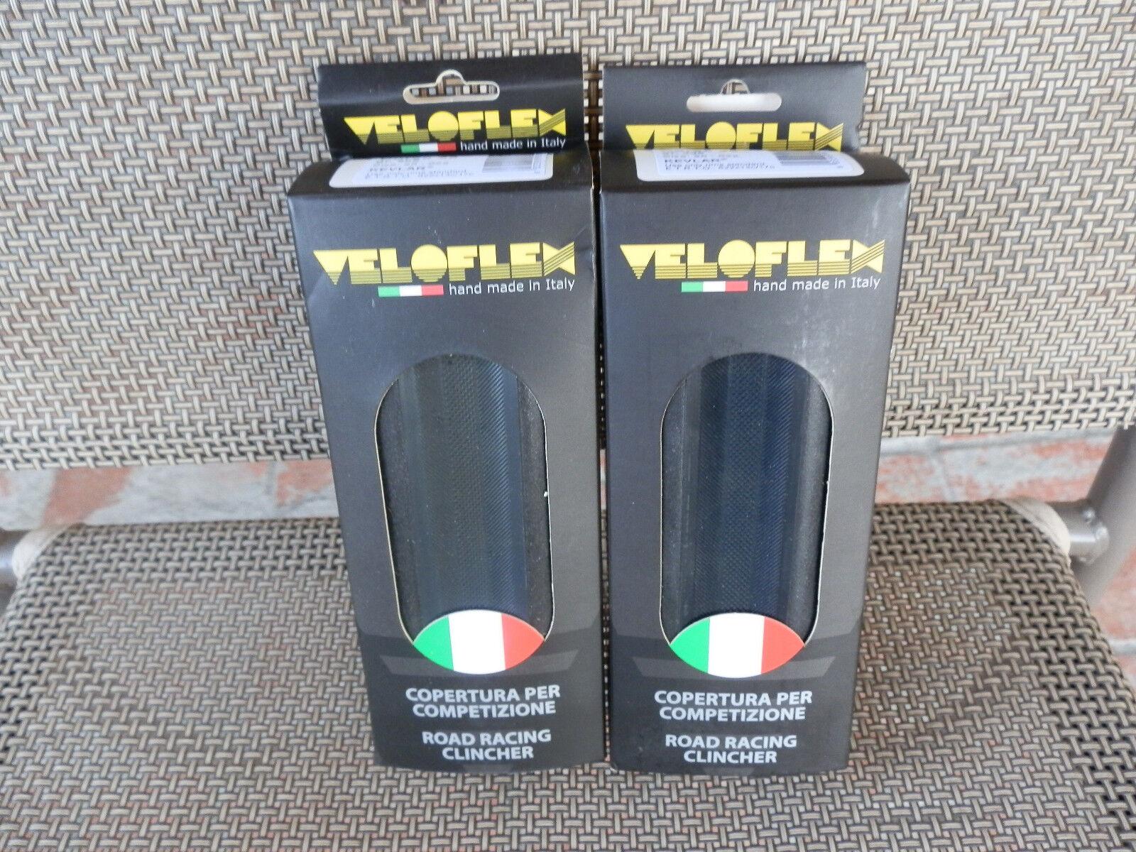TWO  (  2  )  Veloflex Corsa Clincher Tires 700 x 25