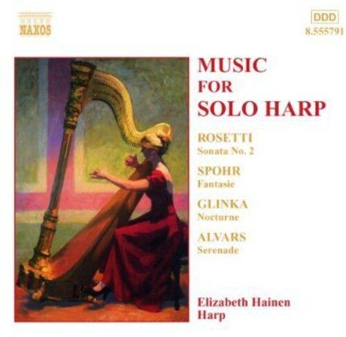Elizabeth Hainen - Music for Solo Harp [New CD]
