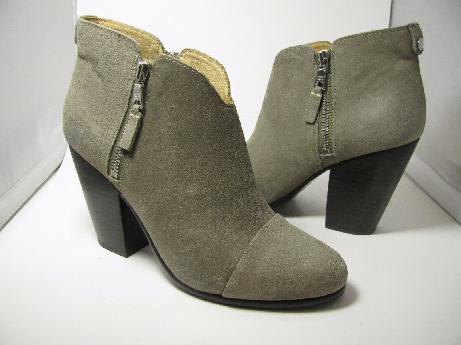 Sz 8.5  38.5 New RAG & BONE Ankle BOOTS BOOTS BOOTS Taupe booties MARGOT Stone Suede heel 9b59e8