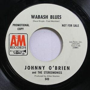 Hear-Funk-Jazz-Breaks-Promo-45-Johnny-Obrien-Wabash-Blues-Purgatory-Blues-O