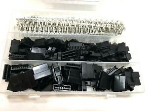 NEW 8 Pin Data Block Crimp Terminal Connector KIT Quick Plug 964 pcs / 50 Sets