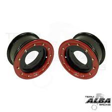 YFZ 450 YFZ 450R  Front Wheels  Beadlock  10x5  4+1  4/156  Alba Racing  Blk/red