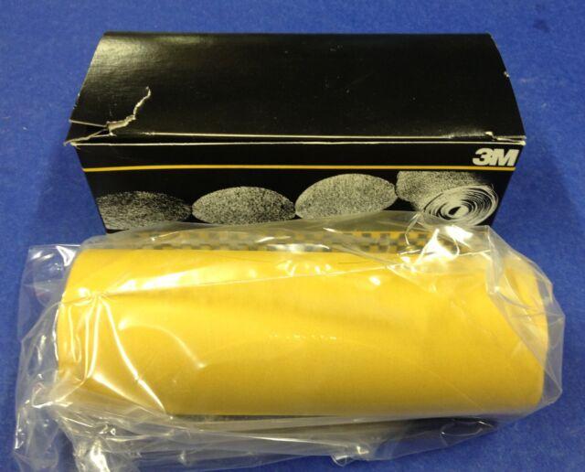 """New 3M Stikit Gold Film Disc Roll 255L P320 Grade 75 Discs per Roll 6/""""  01325"""