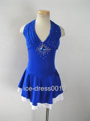 Dignified and Graceful custom Ice Skating Dress Brand New #150-2