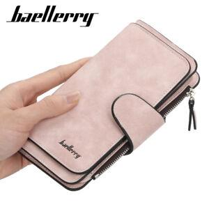Modernes Portemonnaie XL Damen Geldbörse Brieftasche von Baellerry