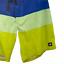 "thumbnail 3 - Tavik Men's Casual Multicolor Color Block Surf Board Surf Shorts Size 33"""